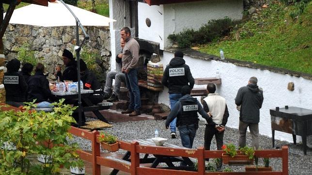 La detención en Saint Étienne de Baigorry