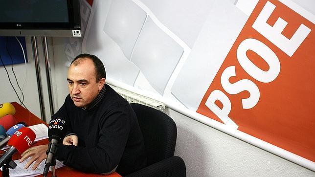 Pedro José Muñoz, en una rueda de prensa