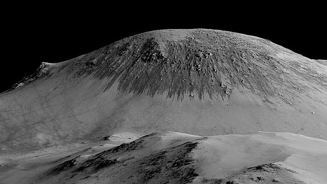 La NASA sigue buscando indicios de vida y de agua líquida en el Planeta Rojo
