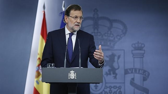 Rajoy: «Los partidarios de la ruptura no tienen el respaldo de la ley ni de las urnas»