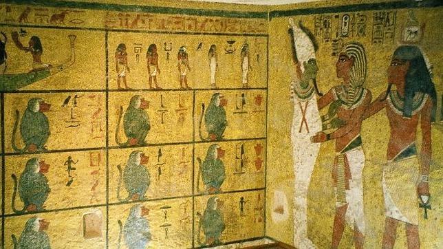 Tumba de Tutankamón, en el Valle de los Reyes