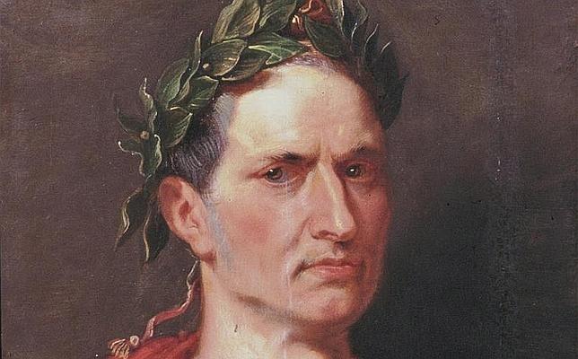 Retrato moderno de Cayo Julio César