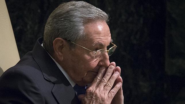 El presidente de Cuba, Raúl Castro, en el pleno de la Asamblea de Naciones Unidas