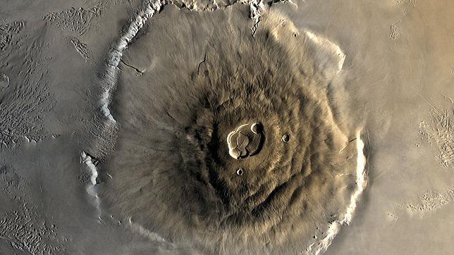 Así sería la terrorífica llegada de un astronauta a Marte 1024px-Olympus_Mons_alt--644x362