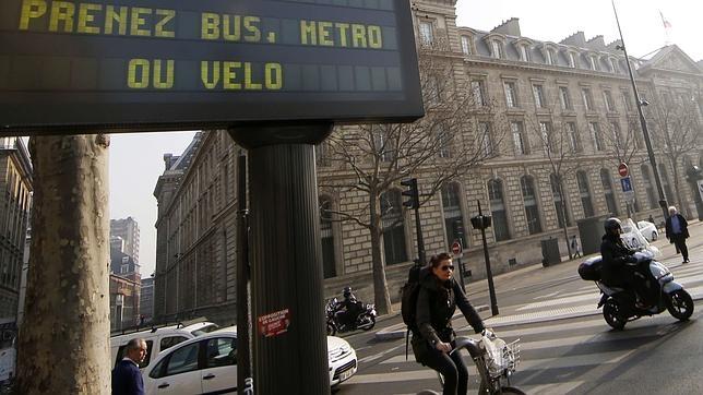 La medida forma parte de varias medidas para «promover los transportes no contaminantes»
