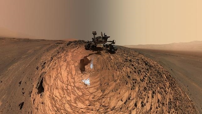 Así sería la terrorífica llegada de un astronauta a Marte Mars-curiosity-rover-msl-horizon-sky-selfie-PIA19807-br2--644x362