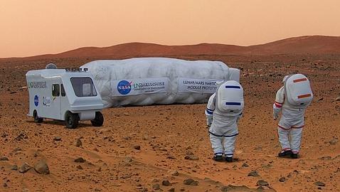 Así será el primer hábitat para el planeta Marte