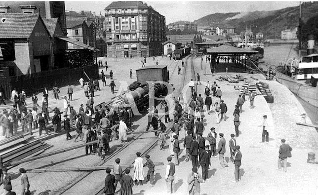 Fotograf as antiguas de abc la huelga de bilbao de 1911 - Bilbao fotos antiguas ...