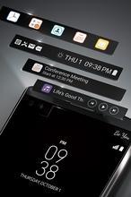 LG lanza V10, un «smartphone» con dos pantallas y doble cámara «selfie»