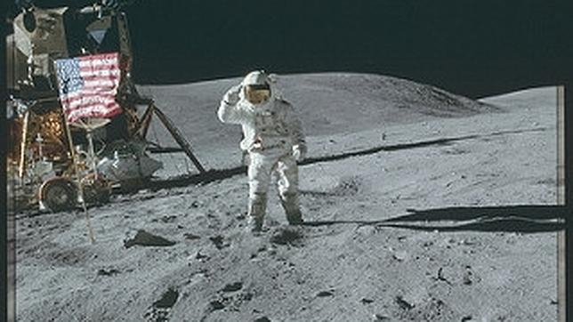 Fotografía de la misión Apolo 16