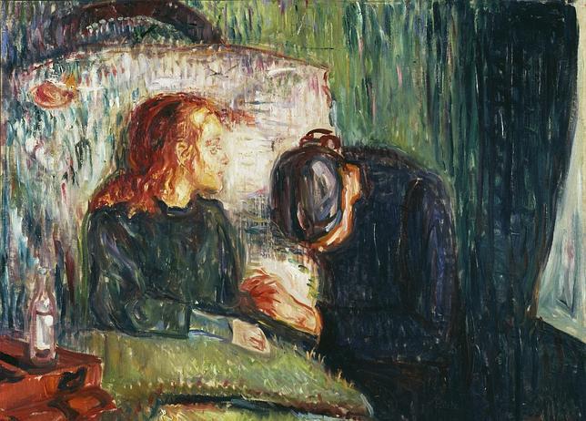 «La niña enferma» (1907), de Edvard Munch