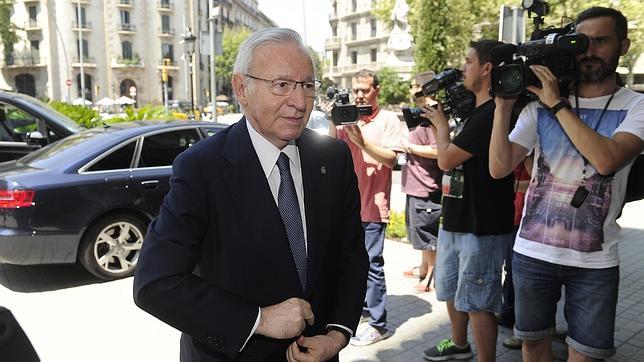 El presidente de la Cambra, Miquel Valls