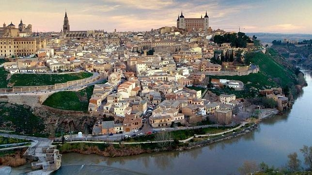 Espectacular panorámica de Toledo