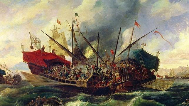 Las galeras de la Santa Liga lograron detener a los turcos hace hoy más de 400 años