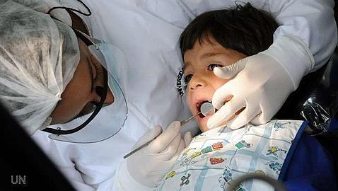 Un estudio confirma la buena salud bucodental de los niños españoles