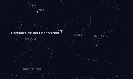 Habrá una lluvia de meteoros antes de la«mega-conjunción» planetaria