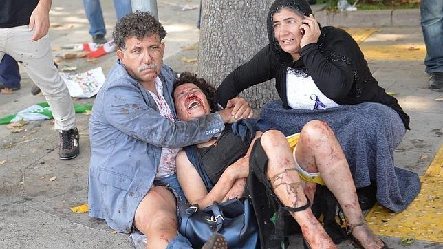 Víctimas del atentado de Ankara