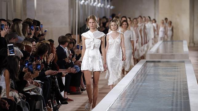 Desfile de Balenciaga en la pasada Semana de la Moda de París