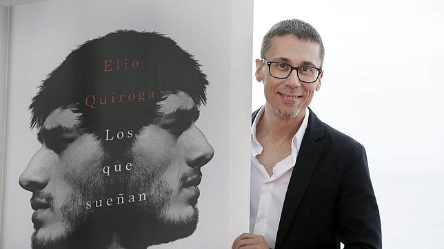 Elio Quiroga, fotografiado en Sitges