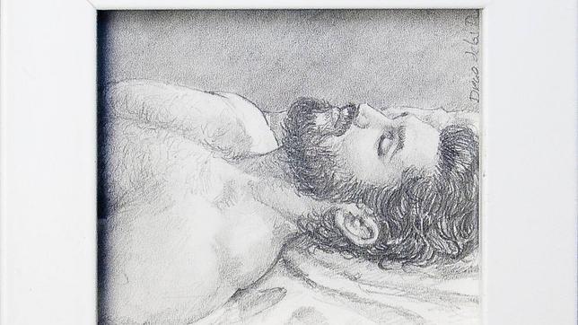 Detalle de «Onar» (2015), dibujo a pequeña escala de Diego de los Reyes