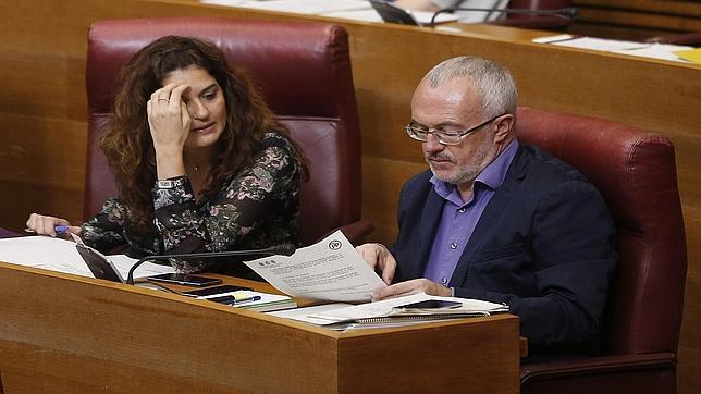 Imagen del portavoz de Podemos e impulsor de la iniciativa, Antonio Montiel