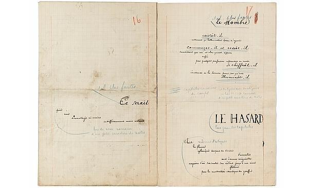 La biblioteca de Mallarmé, vendida por más de 4,4 millones de euros en una subasta en París
