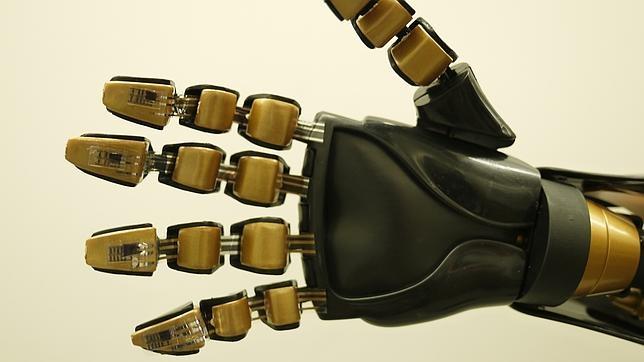 Modelo robótico de la piel artificial