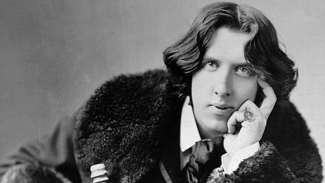 Óscar Wilde, haciéndose el interesante