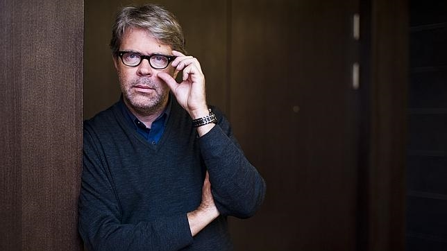 Jonathan Franzen, fotografiado en Múnich poco después de la entrevista
