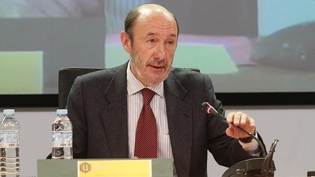 Alfredo Pérez Rbalcaba el pasado mes de abril