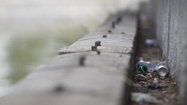 Estado del cauce del río Manzanares