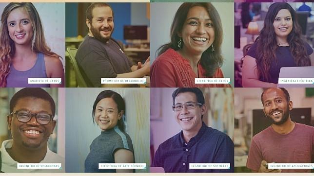 Algunos de los programadores que trabajan en Facebook