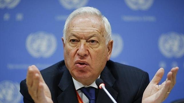 El ministro José Manuel García-Margallo, en la ONU