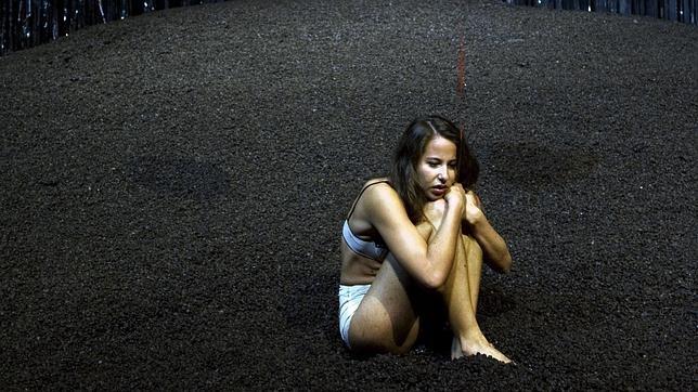 Irene Escolar, en una escena de «El público»
