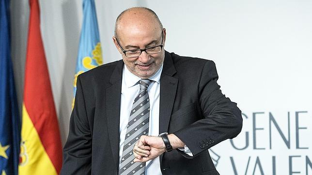 Imagen de archivo del conseller de Transparencia, Manuel Alcaraz