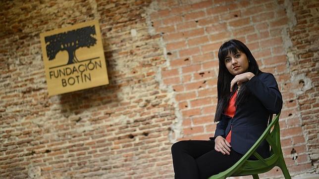 Emma Alfaro, en la sede de la Fundación Botín en Madrid