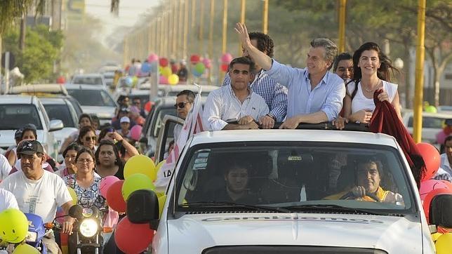 Mauricio Macri se caracterizó por hacer campaña «pisando» las calles