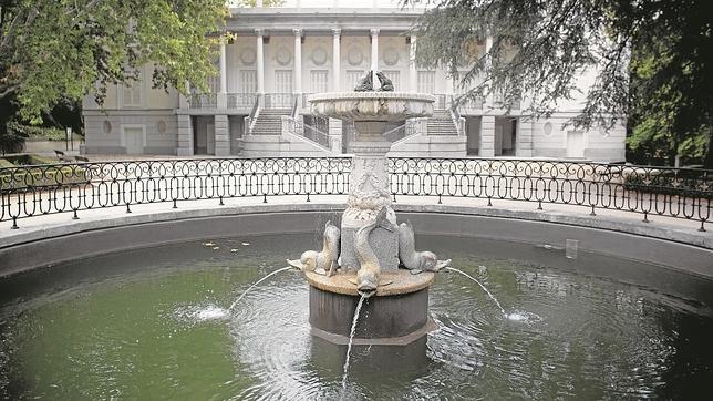 La fuente de las ranas, paso previo para acceder al Palacio de Osuna