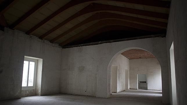La Sala de Billares, donde previsiblemente se ubicaría el museo