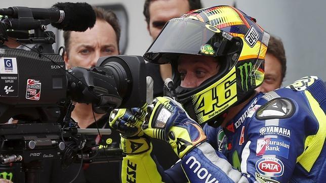 Rossi decepcionó el domingo a muchos aficionados