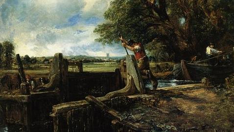 «La esclusa» (1824), de John Constable / ABC