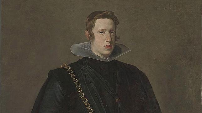 Detalle del retrato de Felipe IV pintado por Velázquez. REUTERS