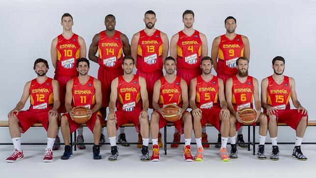 jugadores de la seleccion de baloncesto: