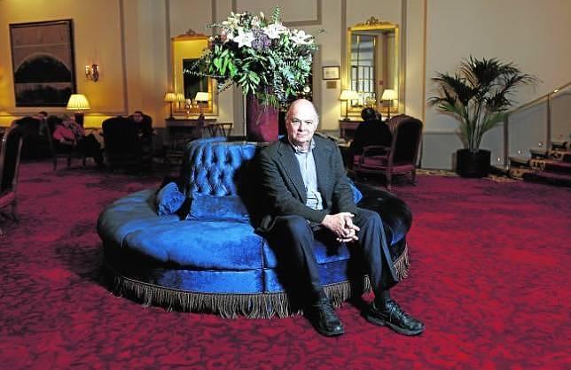 Enrique Krauze, en un hotel de Madrid en vísperas de recibir el premio FAES de la Libertad