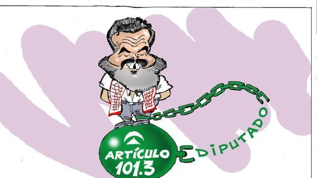 Gordillo «renuncia» en falso a sus privilegios como diputado