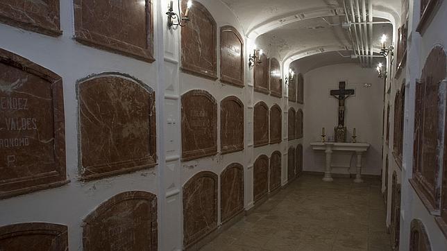Túnel de la muerte, en los bajos del colegio Nuestra Señora de la Providencia, de Usera