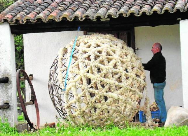 Hacer arte con lana de oveja 951/Xxx xxx