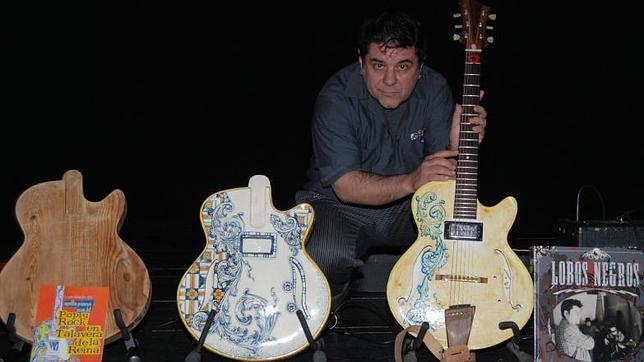 Talavera promocionará en Fitur la primera guitarra de cerámica del mundo