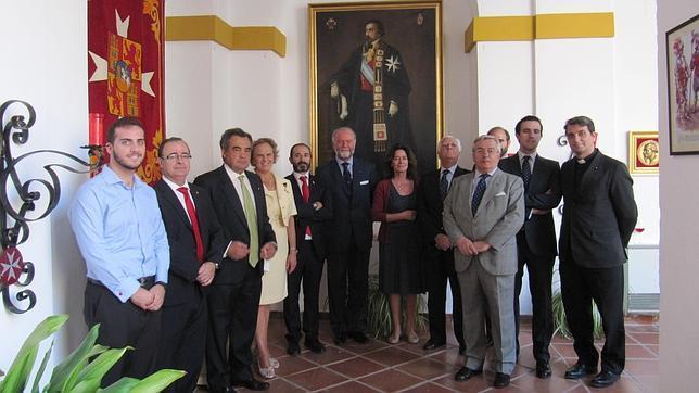 Autoridades presentes en el acto inaugural