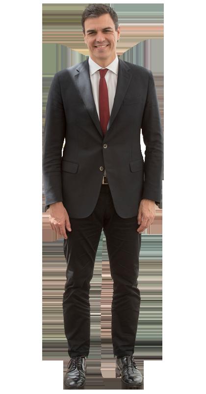 ¿Cuánto mide Pedro Sánchez? - Altura: 1,89 - Real height Pedro-sanchez-frente